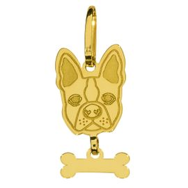 61574-PINGENTE-OURO-BULLDOG-FRANCES-ANIMALS-ICONS-MILORO